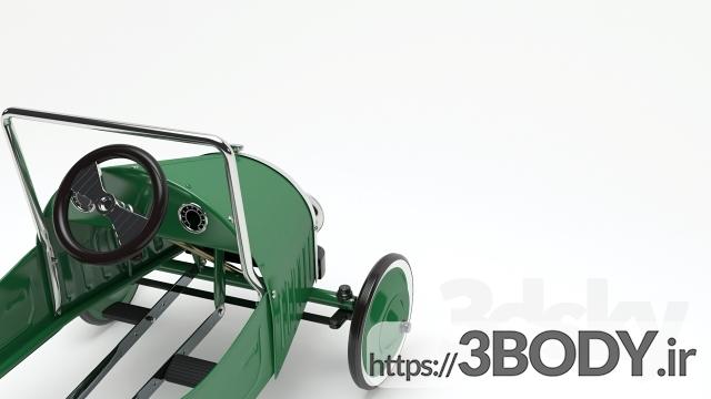 آبجکت سه بعدی اسباب بازی کودک ماشین اسباب بازی پدال عکس 3