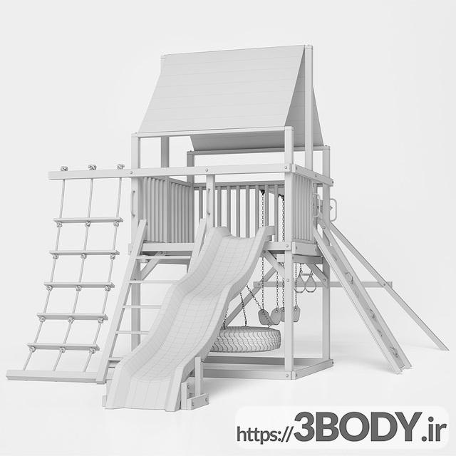 آبجکت ۳ بعدی اسباب بازی کودک و مجموعه ورزشی کودک عکس 3