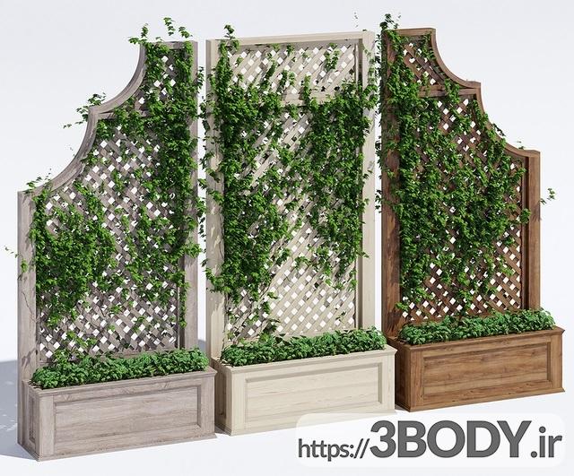 مدل سه بعدی گل و گیاه عکس 2
