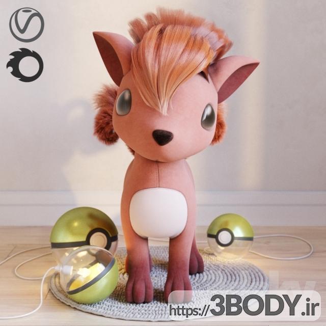 مدل سه بعدی اسباب بازی کودک عکس 3