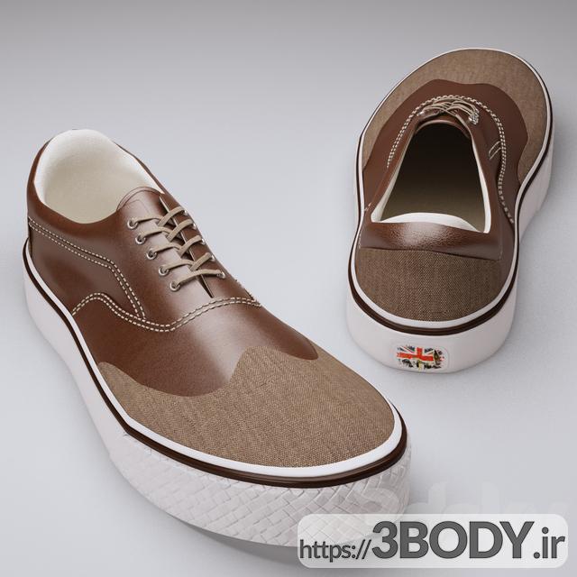 آبجکت سه بعدی کفش ورزشی عکس 1