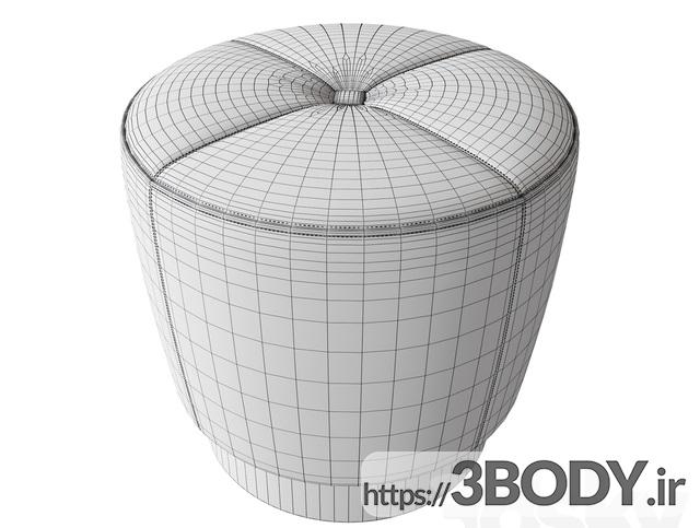 آبجکت سه بعدی  مبل راحتی عکس 3