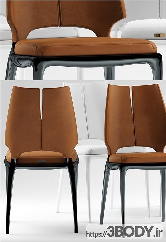 مدل ۳ بعدی میز و صندلی عکس 3