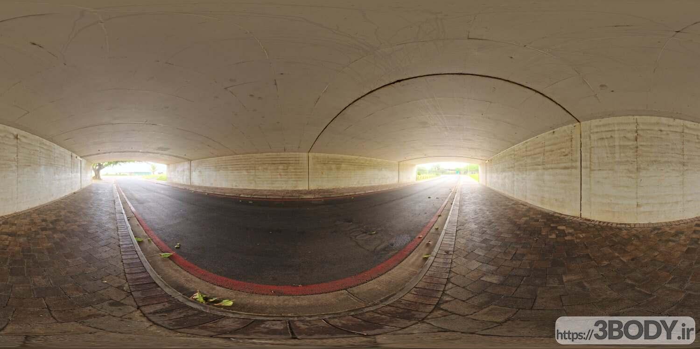 فایل HDRI تونل بتنی عکس 1