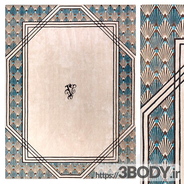 آبجکت سه بعدی فرش عکس 1