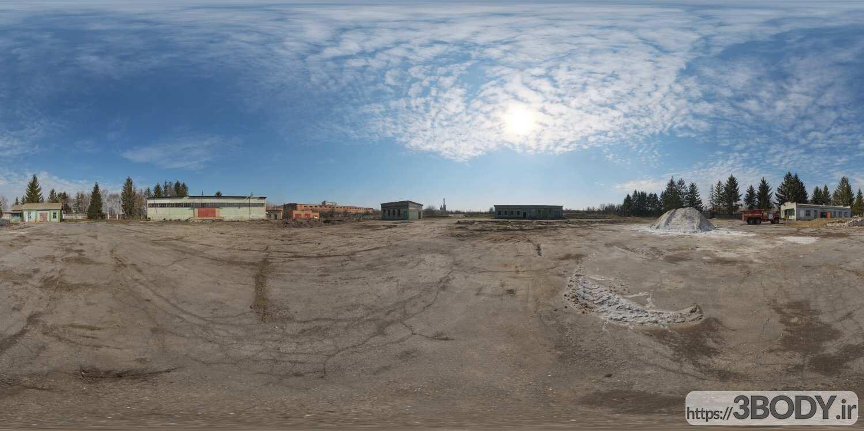 تصاویر HDRI آسمان روز عکس 1