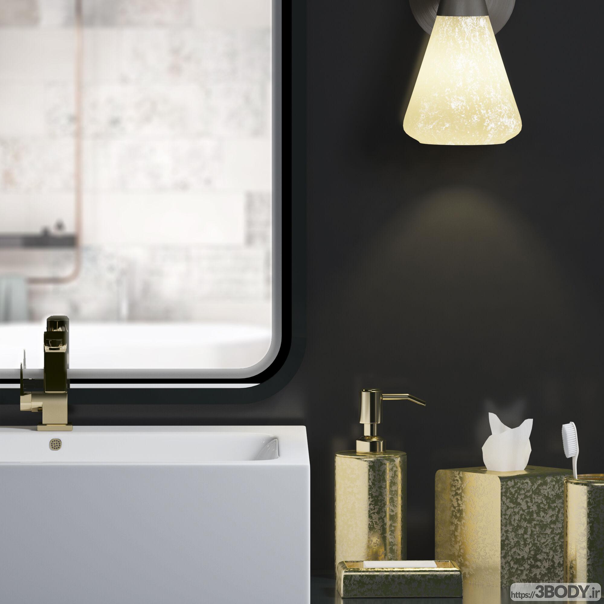 مدل مبلمان و دکور حمام عکس 3