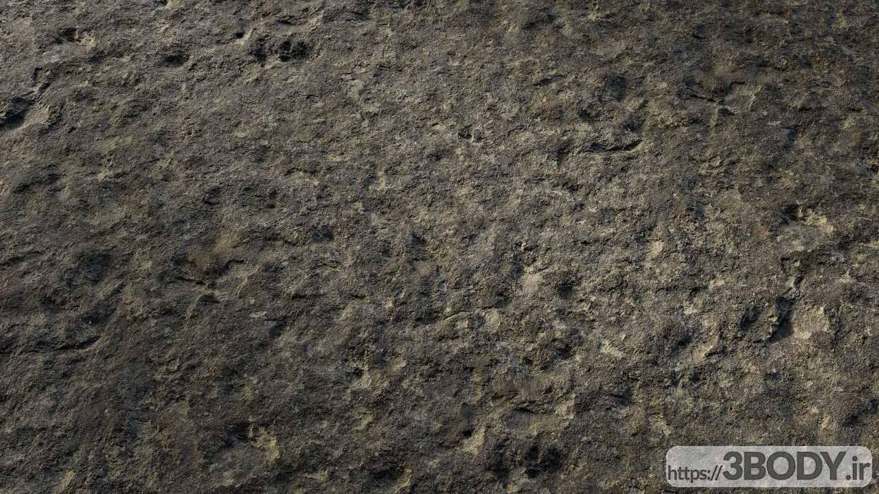 متریال صخره   سیاه عکس 1
