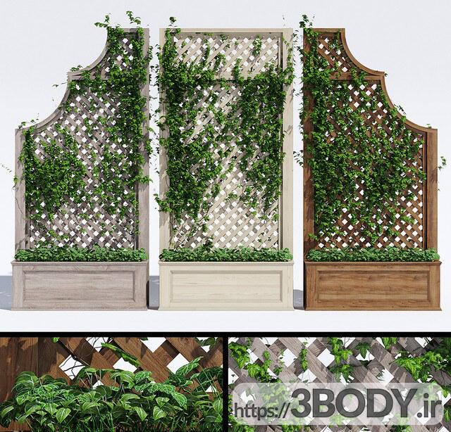 مدل سه بعدی گل و گیاه عکس 1