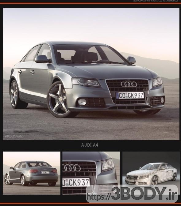دانلود مدل سه بعدی و آبجکت آماده اتومبیل سواری آئودی Audi آلمان عکس 1