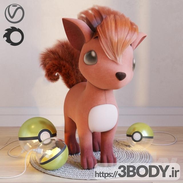 مدل سه بعدی اسباب بازی کودک عکس 1