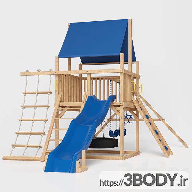 آبجکت ۳ بعدی اسباب بازی کودک و مجموعه ورزشی کودک عکس 1