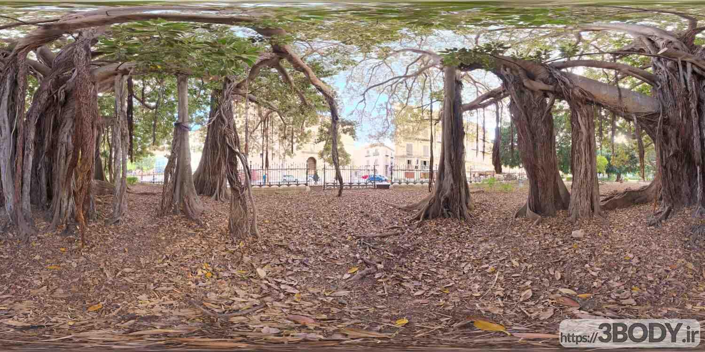 فایل HDRI پارک شهر عکس 1