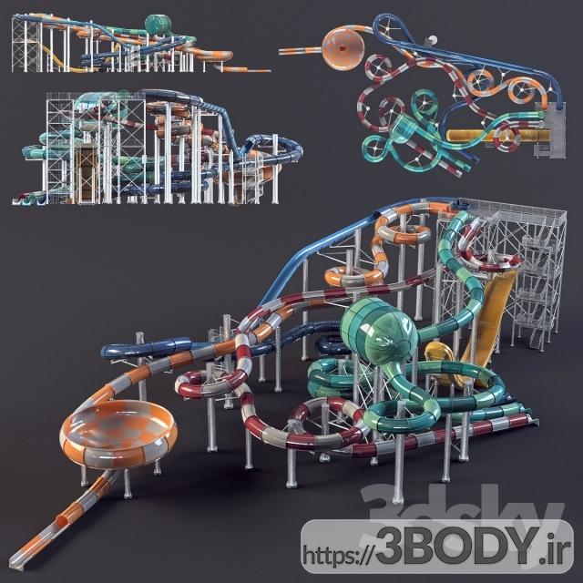 مدل سه بعدی اسباب بازی بچه تفریحات آبی عکس 1