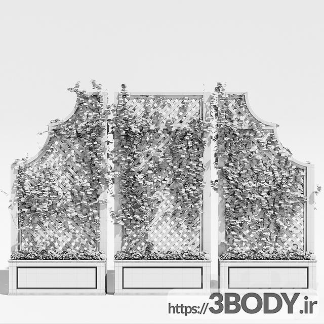 مدل سه بعدی گل و گیاه عکس 3