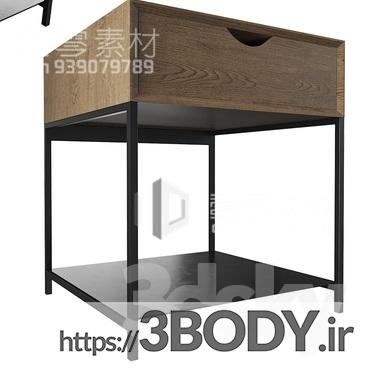 مدل سه بعدی میز کنسول عکس 1