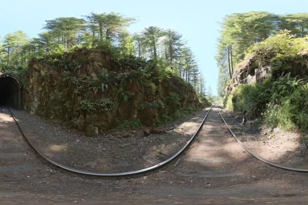 فایل HDRI خارجی ایستگاه مولتون تونل قطار غرب عکس اصلی