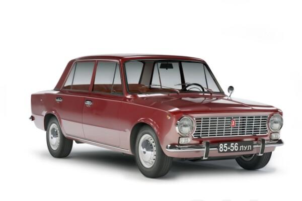 آبجکت سه بعدی اتومبیل واز 2101 عکس اصلی