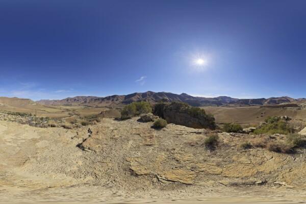 فایل hdri خارجی آسمان و کوه عکس اصلی