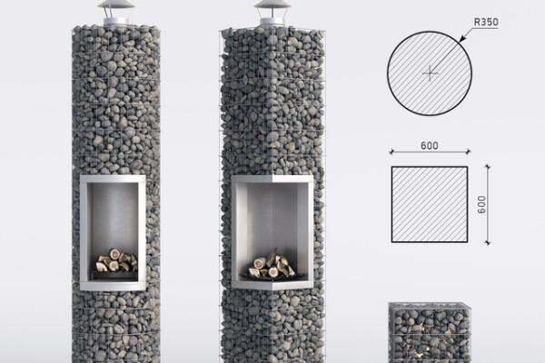 آبجکت سه بعدی شومینه عکس اصلی