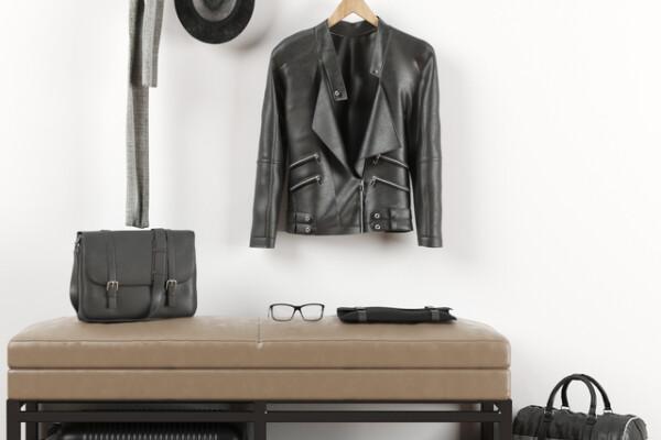 آبجکت سه بعدی ست لباس و کفش  سیاه عکس اصلی