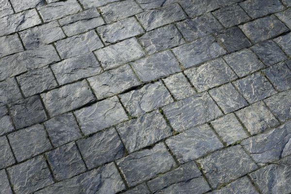متریال کف سنگی نقره ای عکس اصلی
