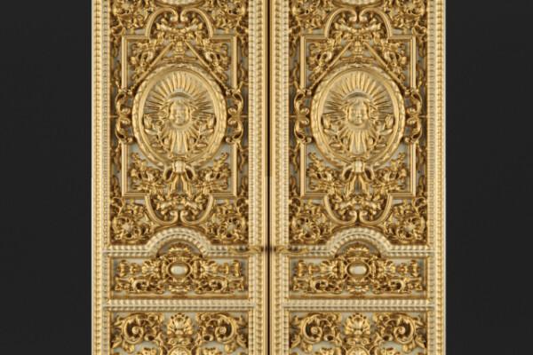 مدل سه بعدی در کلاسیک  طلایی عکس اصلی