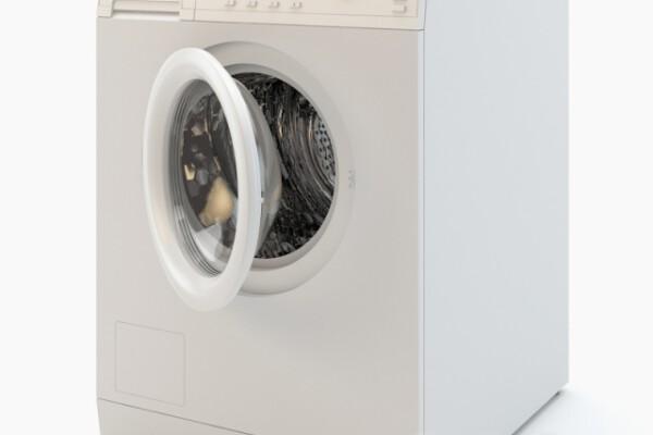 آبجکت سه بعدی ماشین لباسشویی عکس اصلی