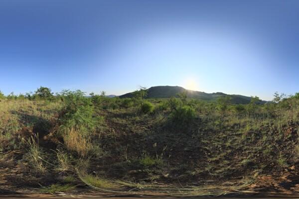 فایل HDRI خارجی آسمان صاف روز عکس اصلی