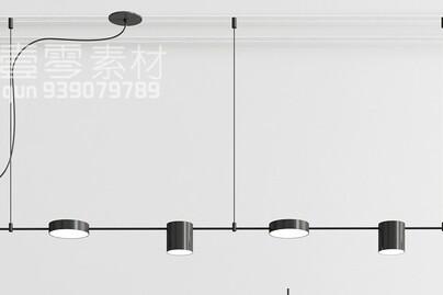 آبجکت سه بعدی  لوستر سقفی عکس اصلی