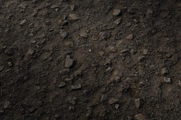 متریال صخره زبر   سیاه عکس اصلی