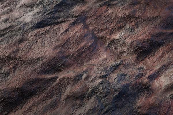 متریال صخره صاف عکس اصلی