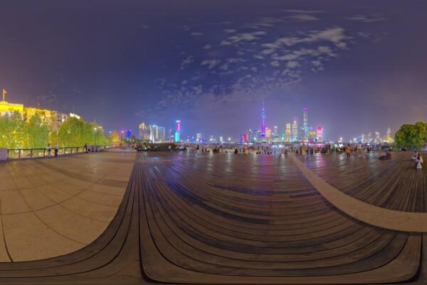 فایل HDRIخارجی باند شانگهای عکس اصلی