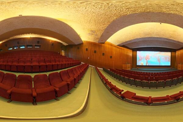 فایل HDRI داخلی سالن سینما عکس اصلی
