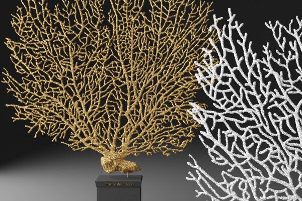 آبجکت سه بعدی دکور مرجان دریایی عکس اصلی