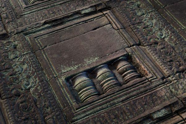 متریال دیوار سنگی طرح دار تزئینی عکس اصلی