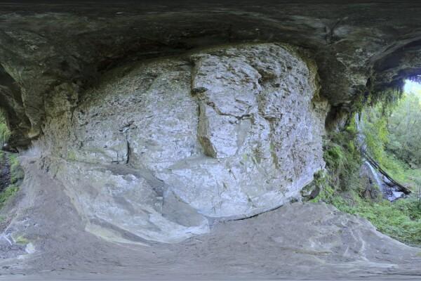 فایل HDRI دیوار غار سنگی عکس اصلی