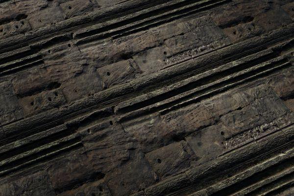 متریال دیوار سنگی قدیمی زبر عکس اصلی