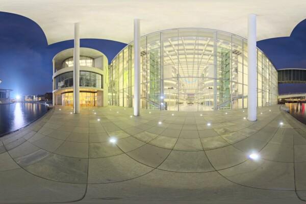 فایل HDRIمعماری ساختمانهای_ مدرن_شب عکس اصلی
