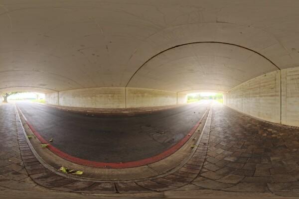 فایل HDRI تونل بتنی عکس اصلی