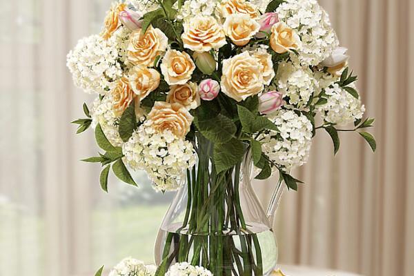 آبجکت سه بعدی گلهای هورنتانیا عکس اصلی