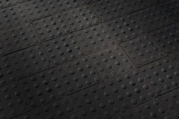متریال سنگفرش پیاده رو   سیاه عکس اصلی