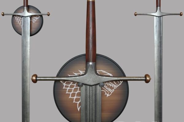 آبجکت سه بعدی شمشیر عکس اصلی