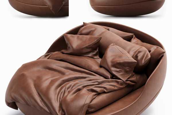 مدل سه بعدی تخت خواب Martian bed عکس اصلی