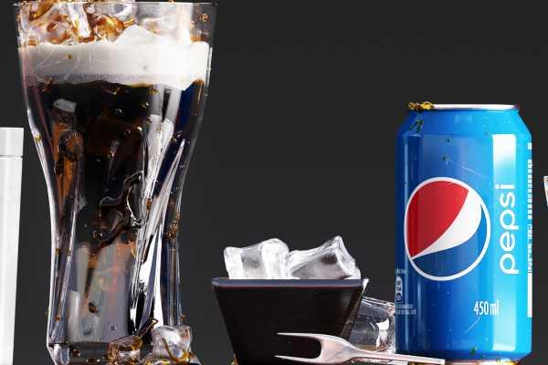 نوشیدنی پپسی Pepsi set with French fries عکس اصلی