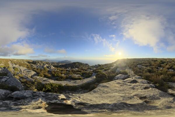 تصویر 360 درجه آسمان روز عکس اصلی