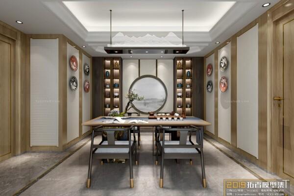 صحنه آماده داخلی اتاق چایی عکس اصلی