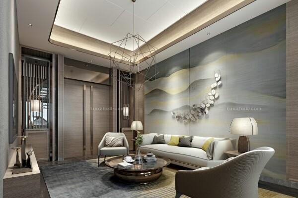 صحنه های اتاق نشیمن به سبک چینی عکس اصلی