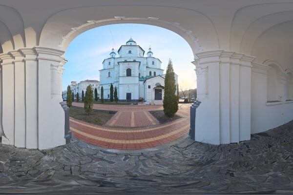 فایل HDRIمعماری کلیسای جامع کوچک 02 عکس اصلی