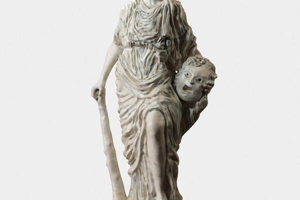 آبجکت سه بعدی مجسمه کلاسیک عکس اصلی